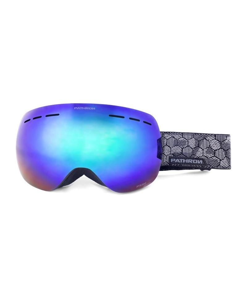 Akiniai Snieglentės Goggles Pathron PTX300 Green