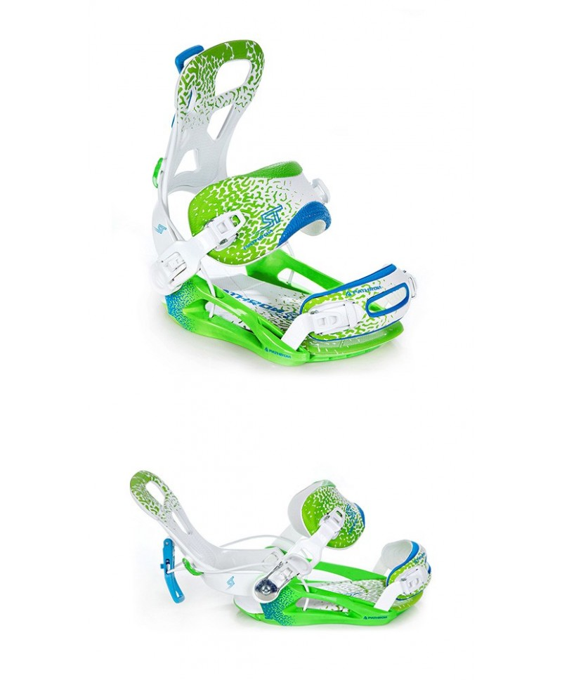 Apkaustai Snieglentės apkaustai Pathron Team ST White/Green/Blue