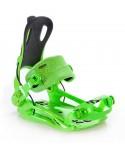 Apkaustai Snieglentės bindings Rage FT270 Green L